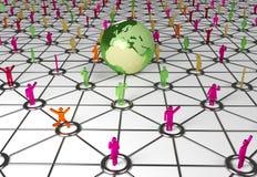 Ogólnospołeczny networking royalty ilustracja
