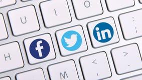 Ogólnospołeczny networking Obraz Stock