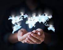 Ogólnospołeczny networking, biznes Fotografia Royalty Free
