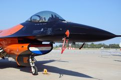 Ogólny dynamiki F-16 jastrząbek Obraz Royalty Free