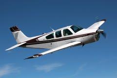 Ogólny lotnictwo - Beechcraft żyła złota Fotografia Stock