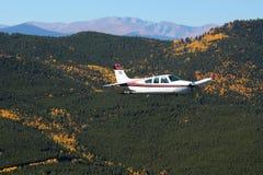 Ogólny lotnictwo - Beechcraft żyła złota Obrazy Royalty Free