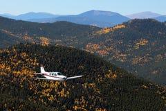 Ogólny lotnictwo - Beechcraft żyła złota Fotografia Royalty Free