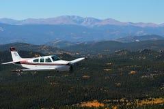 Ogólny lotnictwo - Beechcraft żyła złota Zdjęcia Stock