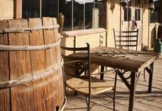 ogólny stary sklepu miasteczka western obrazy stock