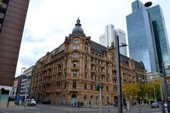 Ogólny viev Frankfurt magistrala - Am - obraz stock