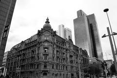 Ogólny viev Frankfurt magistrala - Am - fotografia royalty free