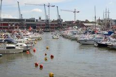 Ogólny widok Bristol schronienia festiwal zdjęcia stock