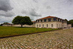 Ogólny widok Corderie Royale w Rochefort Zdjęcia Royalty Free