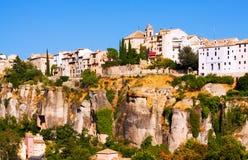 Ogólny widok Cuenca Fotografia Royalty Free