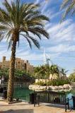 Ogólny widok świat siedem gwiazd pierwszy luksusowy hotel Burj Zdjęcie Royalty Free