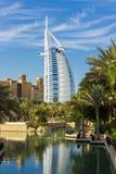 Ogólny widok świat siedem gwiazd pierwszy luksusowy hotel Burj Obraz Stock