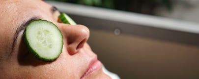 ogórek maska obrazy royalty free