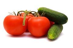 ogórków foto pokoju pomidory Zdjęcia Royalty Free