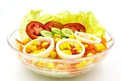 ogórkowej świeżej sałaty mieszanki sałatkowy pomidorowy warzywo Obraz Stock