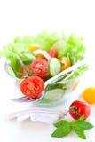 ogórkowy sałatkowy pomidor zdjęcie stock