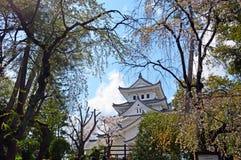 Ogaki-Schloss in Gifu Stockbild