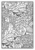 Ogange Blume Fractal Stockbild