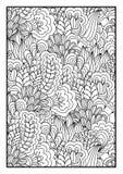 Ogange Blume Fractal Lizenzfreies Stockbild