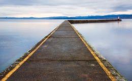 Ogden Point Breakwater Pier Stock Photography