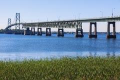 Ogdensburg普里斯科特国际桥梁 库存图片