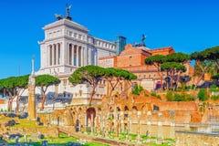 Oggetti archeologici e storici a Roma, unita dal nam fotografia stock