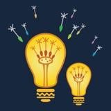 Oggetti astratti di vettore di buone idee royalty illustrazione gratis