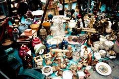 Oggetti d'antiquariato Fotografia Stock