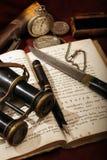 Oggetti d'antiquariato Fotografie Stock