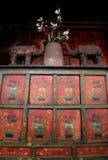 Oggetti d'antiquariato asiatici Fotografia Stock Libera da Diritti