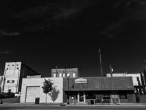 Oggetti d'antiquariato in bianco e nero Fotografie Stock