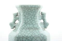 Oggetti d'antiquariato di ceramica Fotografia Stock