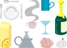 Oggetti della cucina Royalty Illustrazione gratis