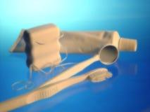 Oggetti dentali Fotografia Stock