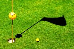 Oggetti di golf Fotografie Stock Libere da Diritti