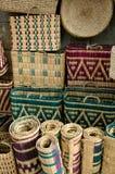 Oggetti marocchini tradizionali Fotografie Stock