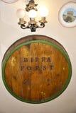 Oggetti originali in ristorante e nella cantina della birra a Roma Italia Immagine Stock Libera da Diritti