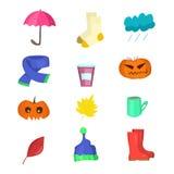 Oggetti a partire da vita di tutti i giorni di autunno Fotografia Stock
