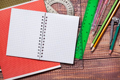 Oggetti per la creatività dei bambini fotografie stock