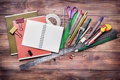 Oggetti per la creatività dei bambini fotografia stock
