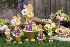 Oggetti per Pasqua, una vita tranquilla Fotografia Stock Libera da Diritti