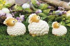Oggetti per Pasqua, una vita tranquilla Immagine Stock