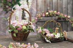 Oggetti per Pasqua, una vita tranquilla Immagini Stock