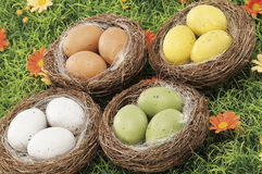 Oggetti per Pasqua, una vita tranquilla Fotografia Stock