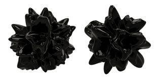 Oggetti scuri dell'estratto 3D Immagini Stock Libere da Diritti