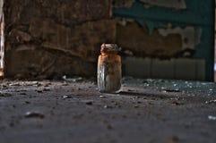 Oggetto abbandonato del palazzo Fotografia Stock