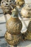 Oggetto d'antiquariato bronzeo di cinese Fotografie Stock