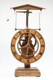 Oggetto d'antiquariato che osserva la manopola di orologio Fotografia Stock