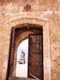 Oggetto d'antiquariato del membro di una lega del castello fotografia stock libera da diritti