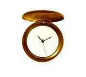 Oggetto d'antiquariato dell'orologio da tasca immagini stock
